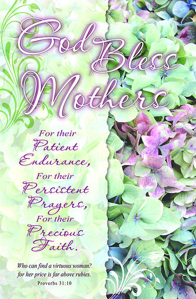 Mothers Day/Proverbs 31:10 Bulletin, Regular (Package of 100)
