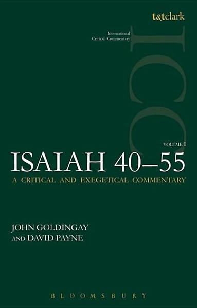 Isaiah 40-55 Vol 1 (ICC) [Adobe Ebook]