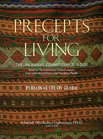Picture of Precepts  for Living Workbook 2019-2020