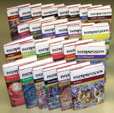 Interpretation Bible Commentary - Old Testament 26 Volume Set