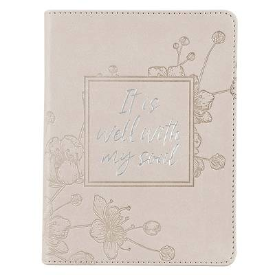 Picture of Journal Handy Luxleather It Is Well with My Soul