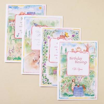 Garden Friends - Boxed Birthday Cards - Box of 12