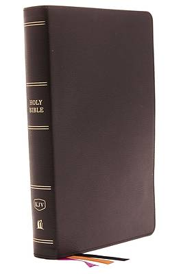 Picture of KJV, Minister's Bible, Genuine Leather, Black, Red Letter Edition