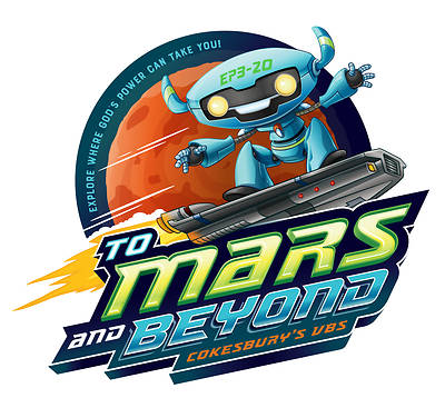 Picture of Vacation Bible School (VBS) 2019 To Mars and Beyond VBS Follow-Up Event Leader Guide Download