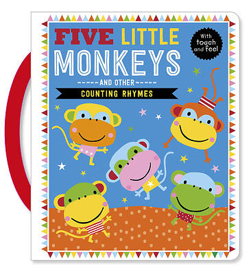 Picture of Touch and Feel Five Little Monkeys and Other Counting Rhymes