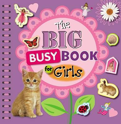 The Big Busy Book for Girls [With Sticker(s) and Stencils]