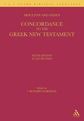 A Concordance to the Greek New Testament