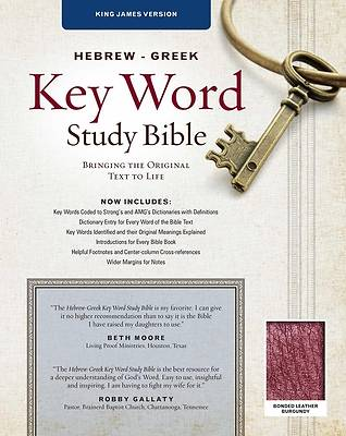 Picture of Bible Hebrew Greek Key Word Study KJV