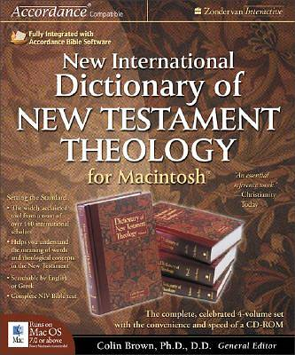Picture of New International Dictionary of New Testament Theology for Macintosh®