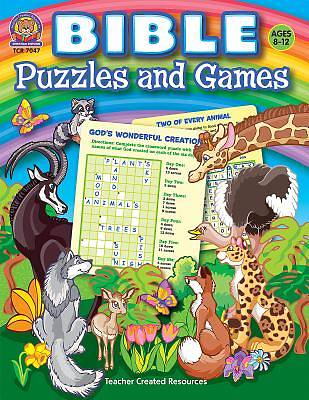 Picture of Bible Puzzles and Games