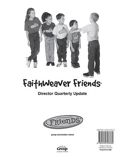 Picture of FaithWeaver Friends Director Quarterly Update Winter 2015-16