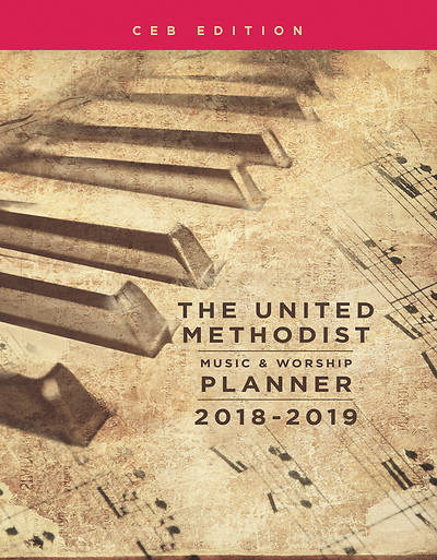 Picture of The United Methodist Music & Worship Planner 2018-2019 CEB Edition