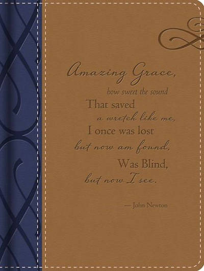 Amazing Grace Journal (Deluxe)