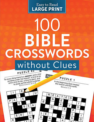 Picture of 100 Crosswords Without Clues Large Print