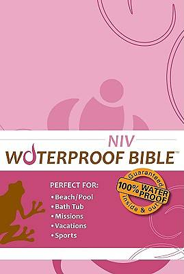 Bible NIV Waterproof Pink/Brown Floral