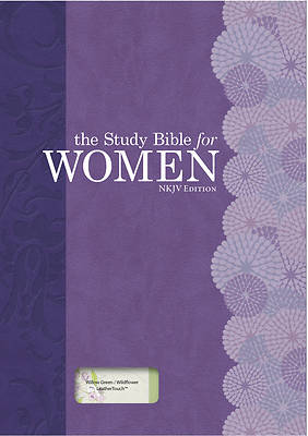 Picture of The Study Bible for Women, NKJV Personal Size Edition Willow Green/Wildflower Leathertouch