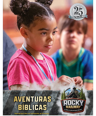 Picture of Vacation Bible School VBS 2021 Rocky Railway Bible Adventures Leader Manual (Spanish for Bilingual Edition)