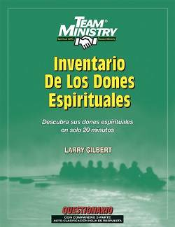 Picture of 50-Pack Team Ministry Spiritual Gifts Inventory, Adult Spanish Edition