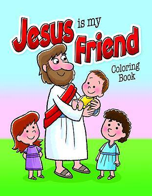 Picture of Color and ACT Bks - Jesus Is My Friend - Pre School