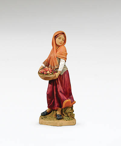 "Fontanini Nativity - 27"" Scale - Rachel with Basket of Fruit"