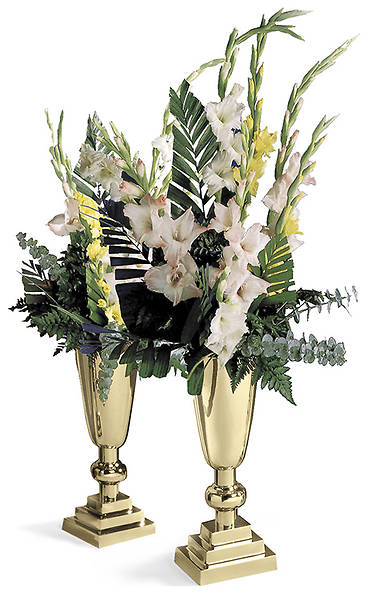 King of Kings Vases with Liners - Pair