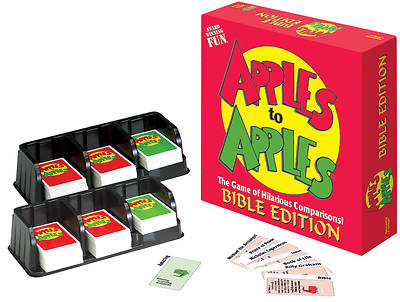 Picture of Apples to Apples Card Game - Bible Edition
