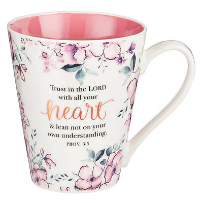 Picture of Mug Coffee - Trust in the Lord - Proverbs 3:5