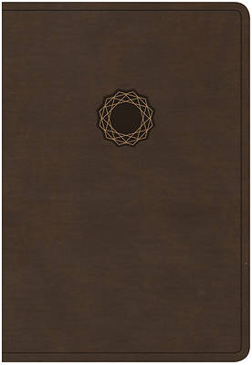 Picture of KJV Deluxe Gift Bible, Brown Leathertouch