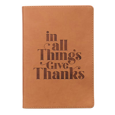 Picture of Journal Classic in All Things Give Thanks