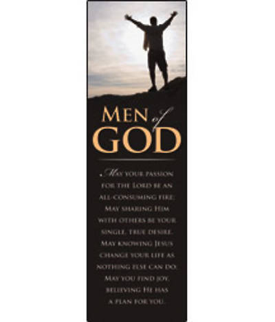 Men of God Bookmark (pkg 25)