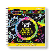 Picture of Scratch Art Doodle Pad