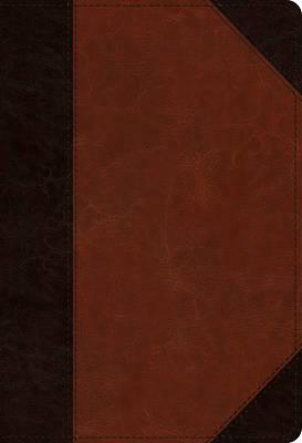 Picture of ESV Student Study Bible (Trutone, Brown/Cordovan, Portfolio Design)