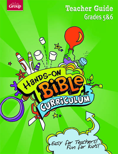 Picture of Hands-On Bible Curriculum Grades 5 & 6 Teacher Guide Spring 2015