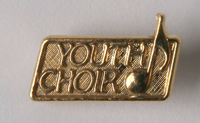 Picture of Choir Youth Bright Gold Pin