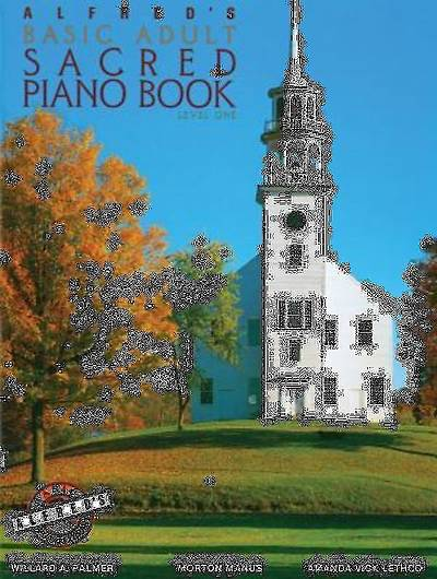 Alfreds Basic Adult Piano Course Sacred Book, Level 1