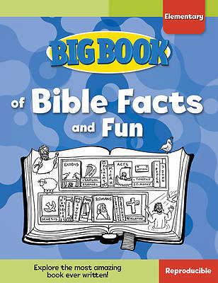 Picture of Big Book of Bible Facts and Fun for Elementary Kids