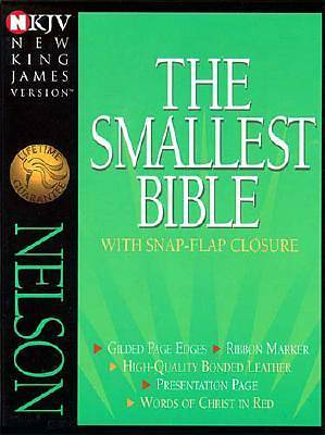 Bible NKJV Smallest Snap Flap