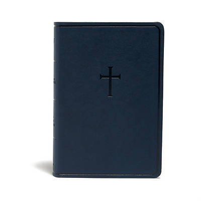 Picture of KJV Everyday Study Bible, Navy Cross Leathertouch