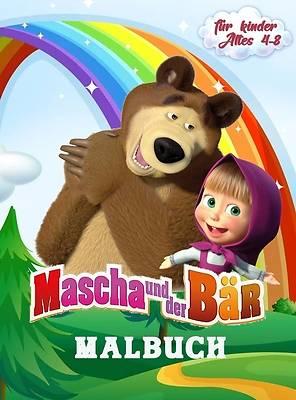 Picture of Mascha und der Bär Malbuch für Kinder Alter 4-8