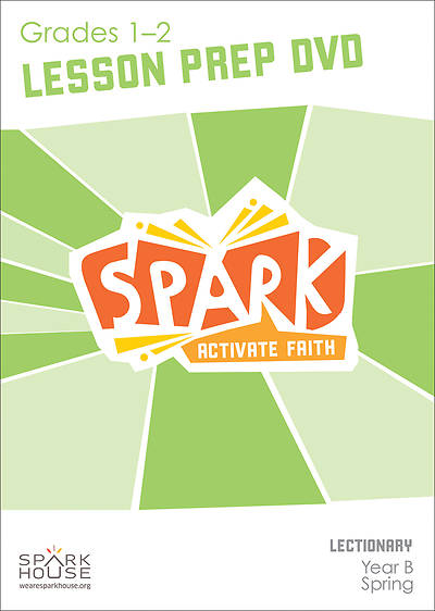 Picture of Spark Lectionary Grade 1-2 Preparation DVD Year B Spring