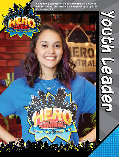 Vacation Bible School VBS Hero Central Youth Leader Book