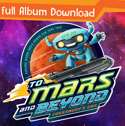 Picture of Vacation Bible School (VBS) 2019 To Mars and Beyond  Complete Music CD - Full Album Download