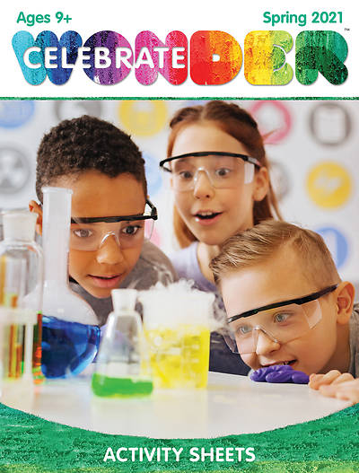 Picture of Celebrate Wonder Ages 9+ Activity Sheets Spring 2021