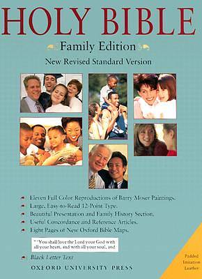 The Holy Bible New Revised Standard Version Family Edition