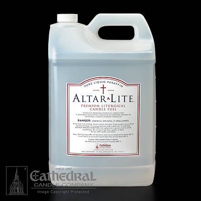 Cathedral Altar Lite Pure Liquid Paraffin Wax - Case of 2, 2.5 Gallon Containers