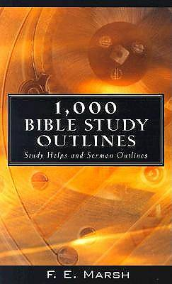 Picture of 1000 Bible Study Outlines