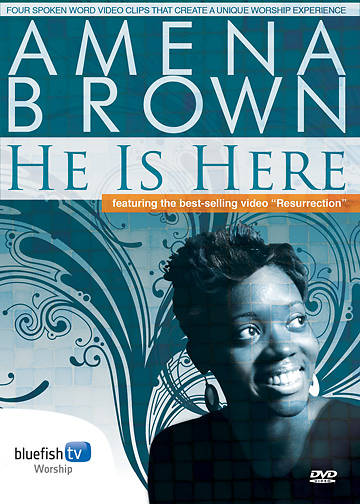 Amena Brown - He is Here DVD