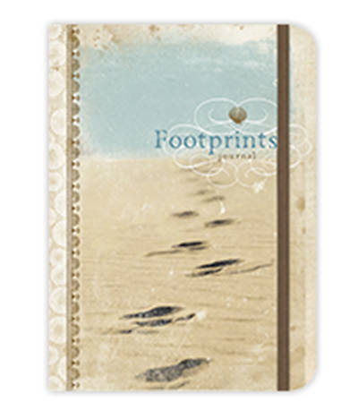 Footprints-Inspirational Message Blank Journals