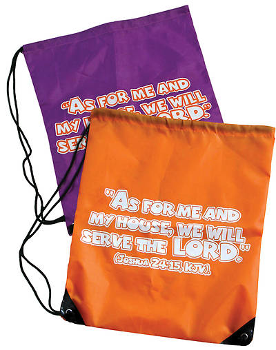 UMI VBS 2013 Jesus Family Reunion: The Remix Drawstring Bag Purple
