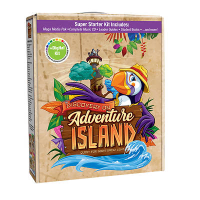 Picture of Vacation Bible School (VBS) 2021 Discovery on Adventure Island Super Starter Kit Plus Digital